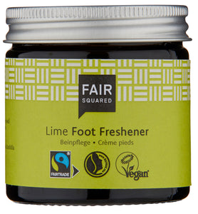 Fair Squared,  foot freshener lime 50ml, plastfrie