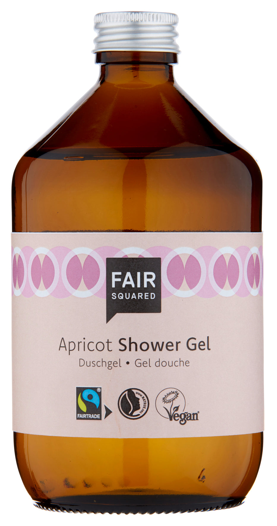 Fair Squared, dusjgele aprikos, 500ml