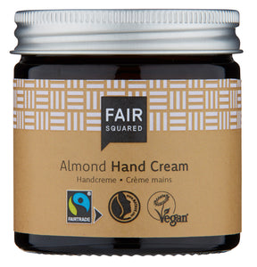 Fair Squared, håndkrem sensitive mandel, 50ml