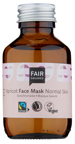 Fair Squared, facial mask fluid apricot - normal skin, 100ml