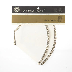 Coffee Sock, kaffefilter #2, 2 stk