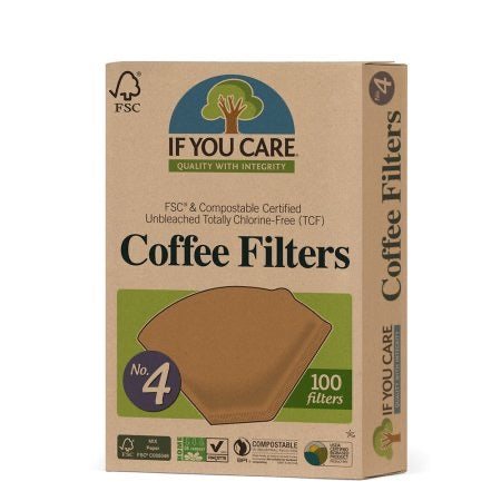 If You Care Coffee Filter nr. 4 100stk.