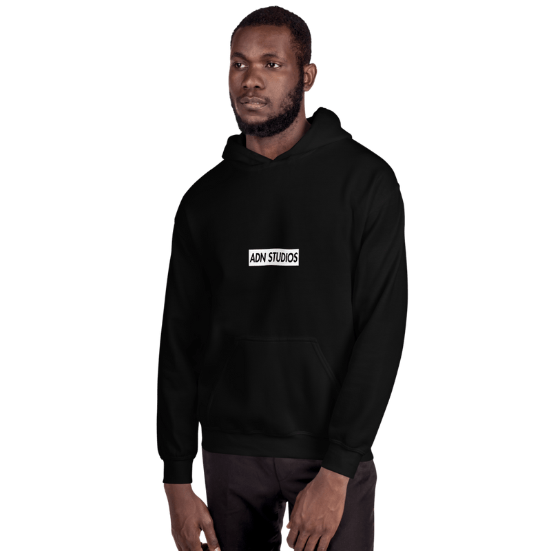 BOX LOGO ADN STUDIOS HOODIE | LIMITED EDITION