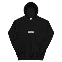 BOX LOGO ADN STUDIOS HOODIE | LIMITED EDITION S