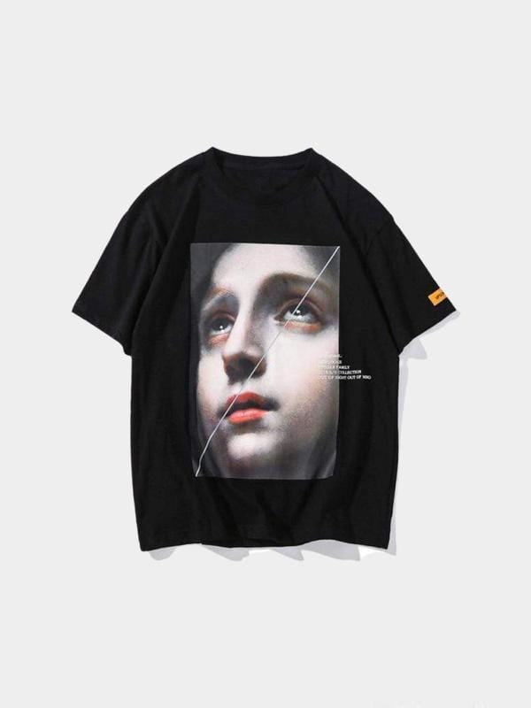 FEAR OF GOD T-SHIRT Black / L