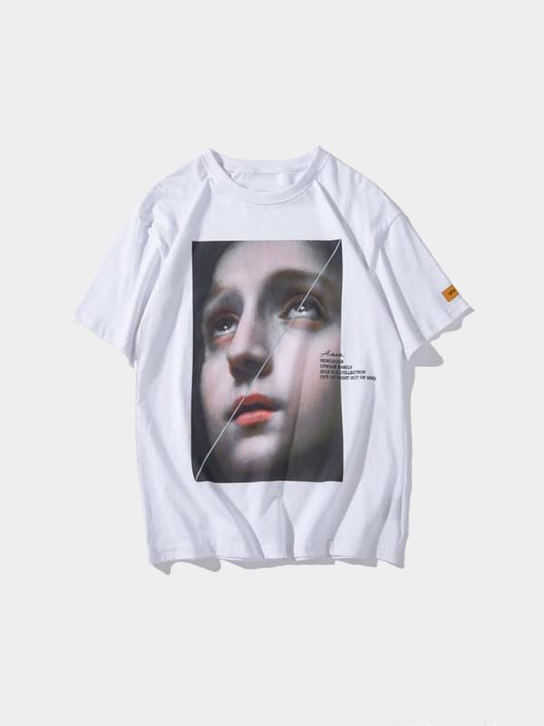 FEAR OF GOD T-SHIRT White / L