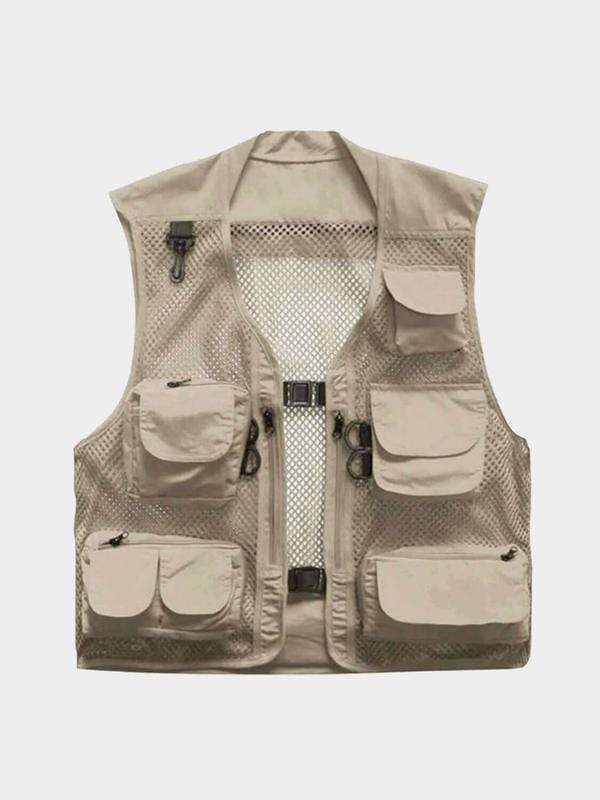 FISHING VEST Khaki / XXL