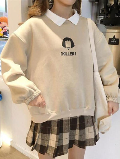 KILLER GIRL SOFT SWEATSHIRT