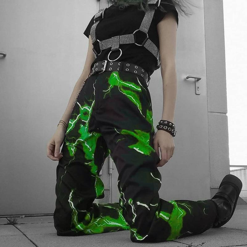 LIGHTNING PANTS GREEN