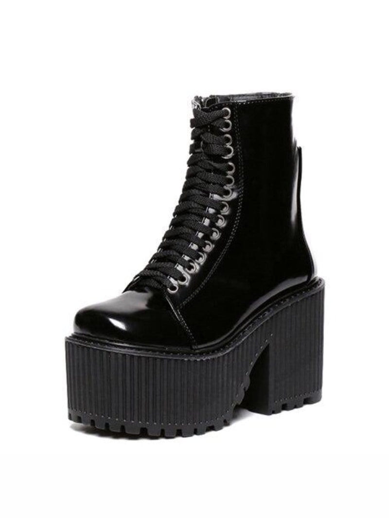 PLATFORM SHOES PUNK GOTH