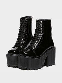 PLATFORM SHOES PUNK GOTH 4.5