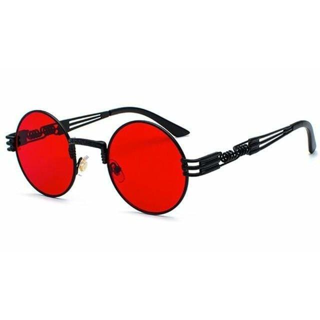 QUAVO SUNGLASSES Black Clear Red