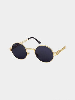 QUAVO SUNGLASSES Gold Mirror