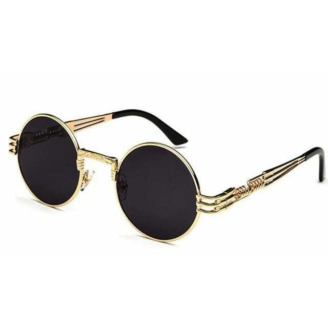 QUAVO SUNGLASSES Gold With Black