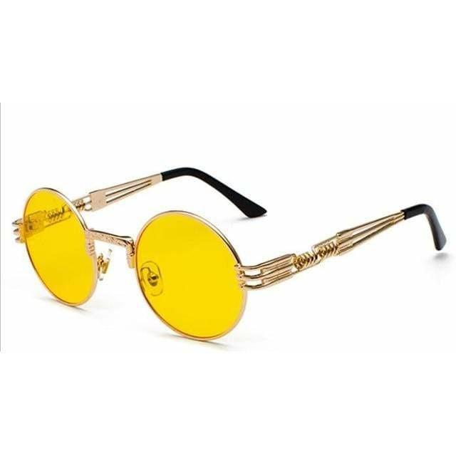 QUAVO SUNGLASSES Gold With Yellow