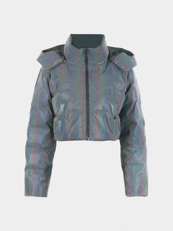 REFLECTIVE PUFFER JACKET WOMEN'S