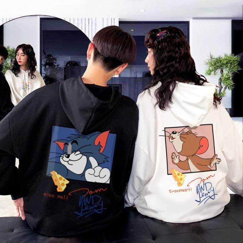 TOM AND JERRY LOVE HOODIE