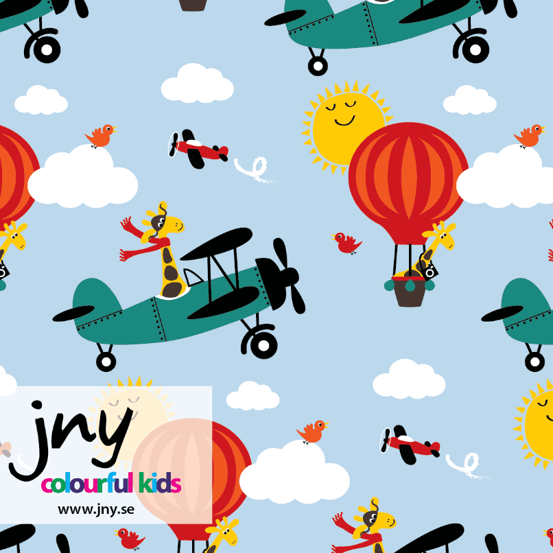 Airplay - økologisk French Terry jersey - Jny Kids