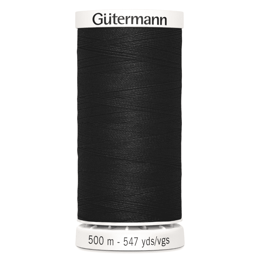 Gütermann Sew-All 500m - 000 - sort