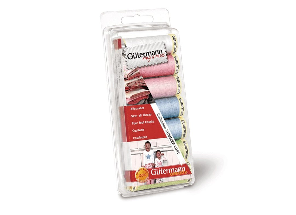 Gütermann Sew-All Trådsett Summer Loft Collection – 100m x 7