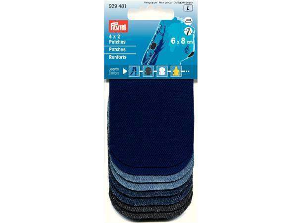 Prym strykelapper jeans/denim mini 6x8cm