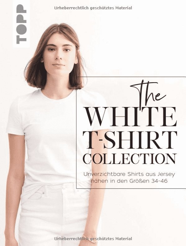 The White T-shirt Collection - Tysk bok
