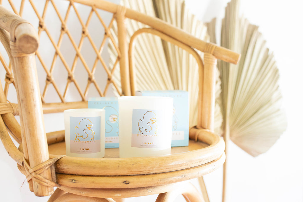 Celia Loves Goddess Candles | Kindly, Darling Sustainable Boutique