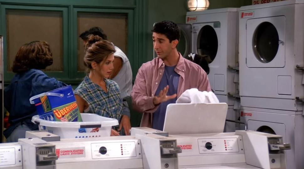 Friends Laundry Scene Image