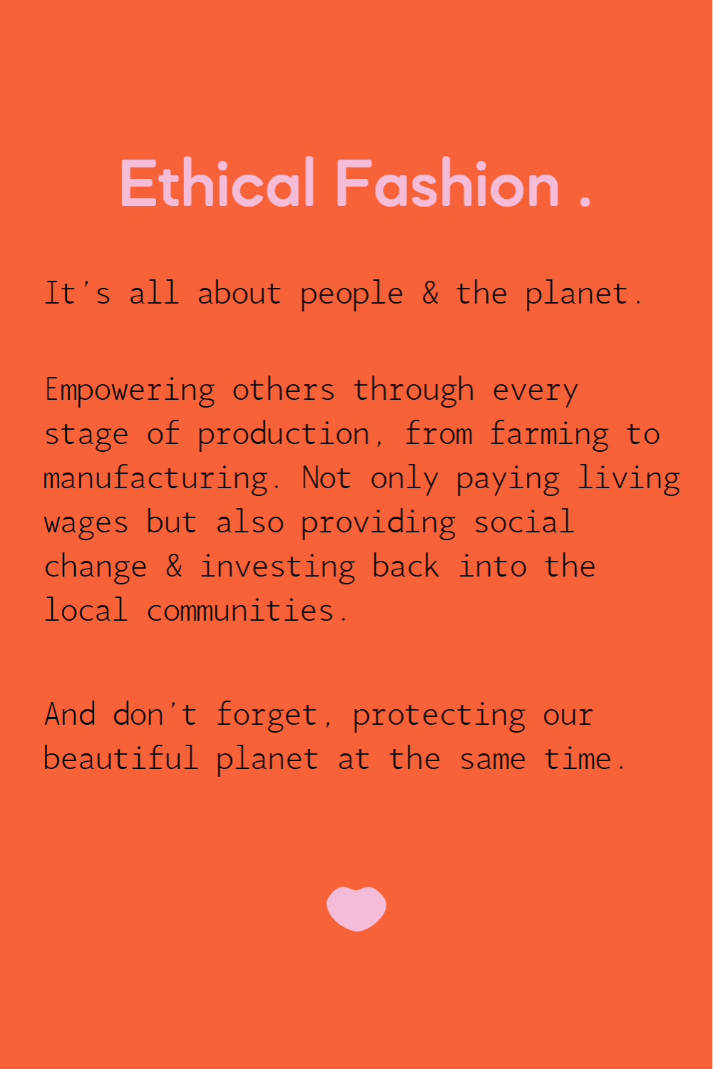 Ethical Fashion Definition