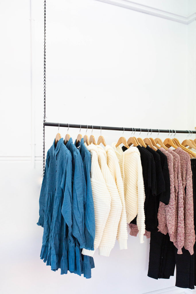 Hanging Clothes | Kindly, Darling Sustainable Boutique