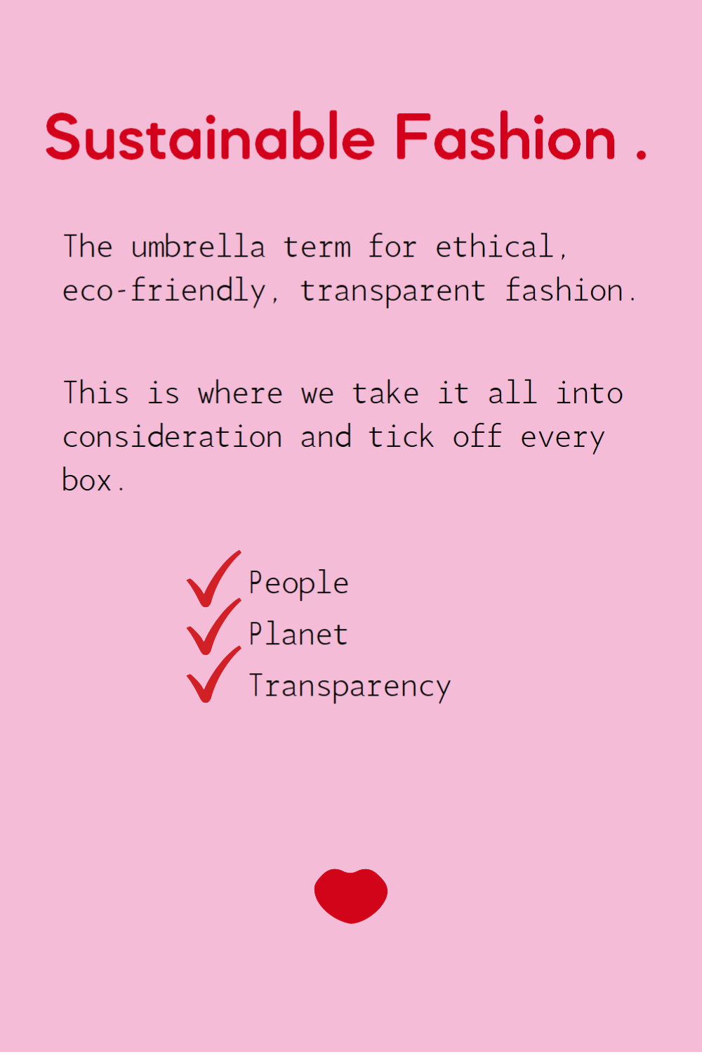 Sustainable Fashion Definition