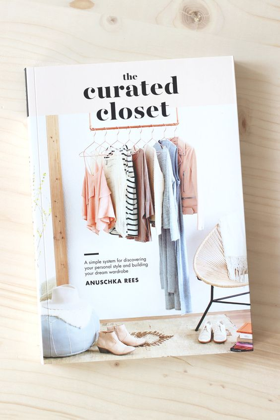 The curated closet book by Anuschka Rees