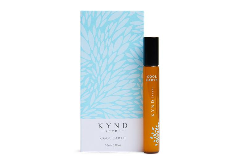 The KYND Scent - Cool Earth Vial and Box