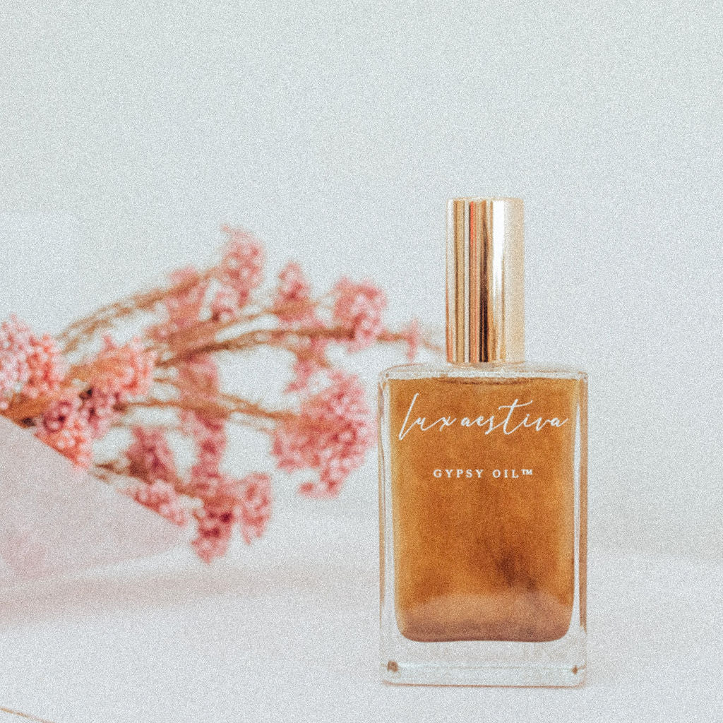 Gypsy Shimmer Oil in Tiger Eye by Lux Aestiva