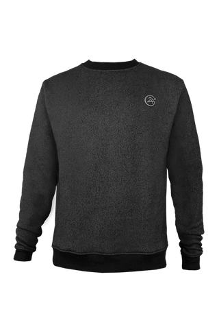 Sweat Col Rond Gris chiné - Eurostep