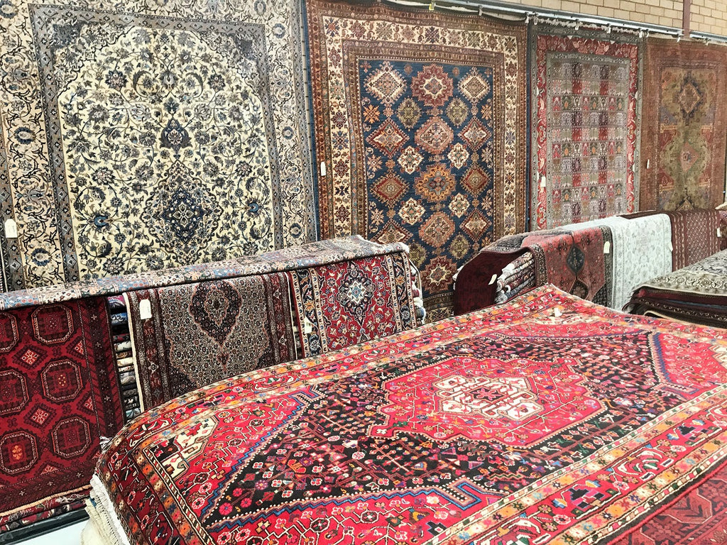 Persian Rug Cargo Liquidation Sale