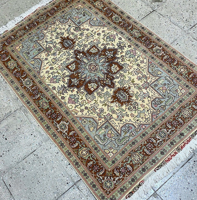 Masterpiece Persian Tabriz Rug