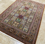 Pictorial Design Qum Rug