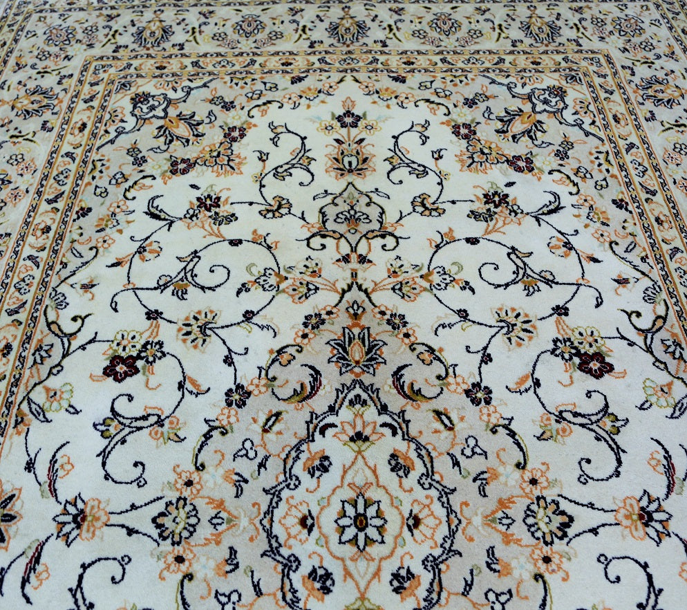 Traditional Yazd Persian Rug