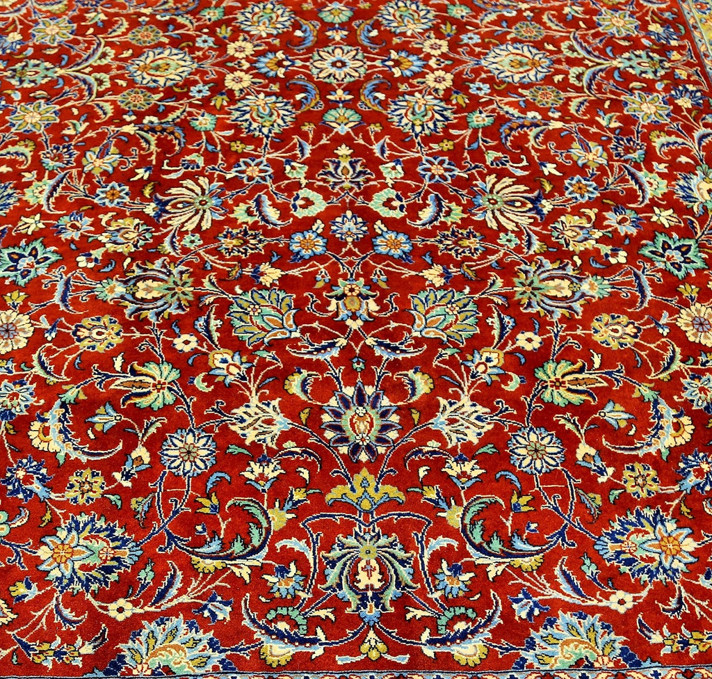 Fine Wool Red Rug