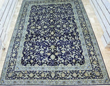 Imperial Kashan Persian Rug Signed