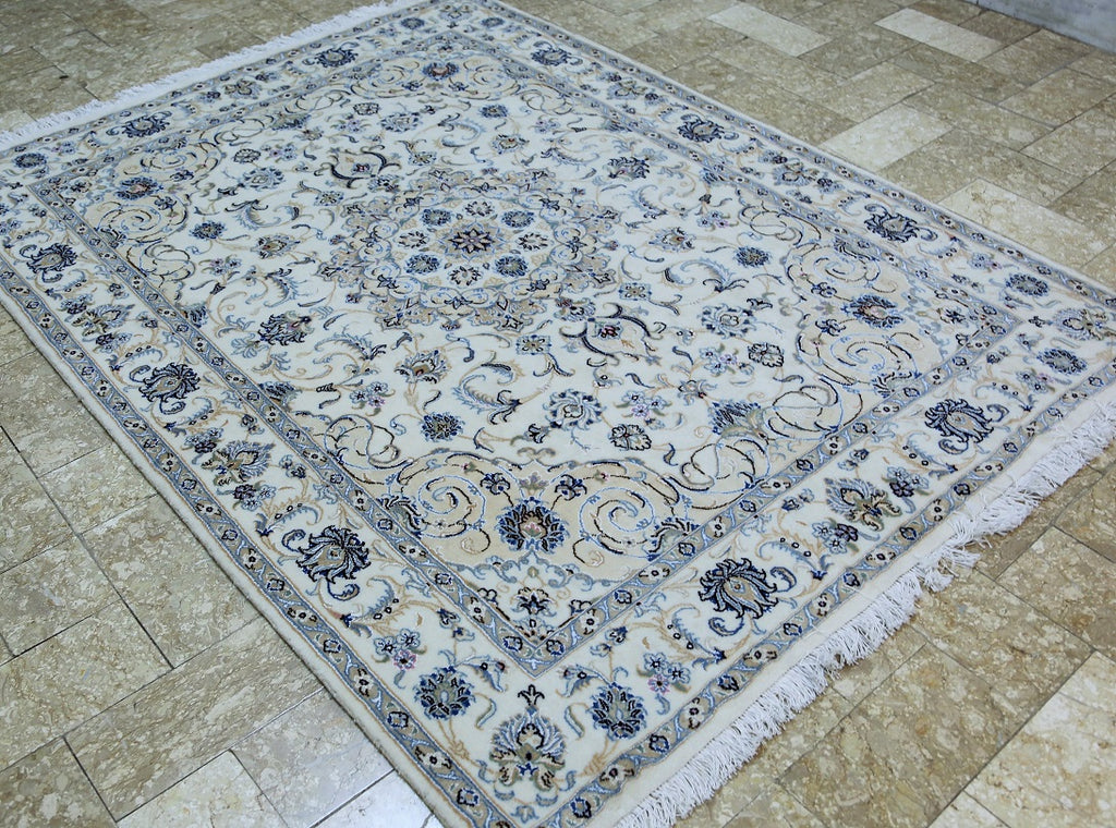 Superb Persian Nain Rug