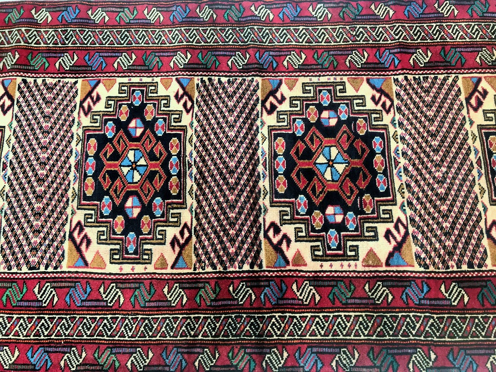 Tribal Quchan Persian Runner