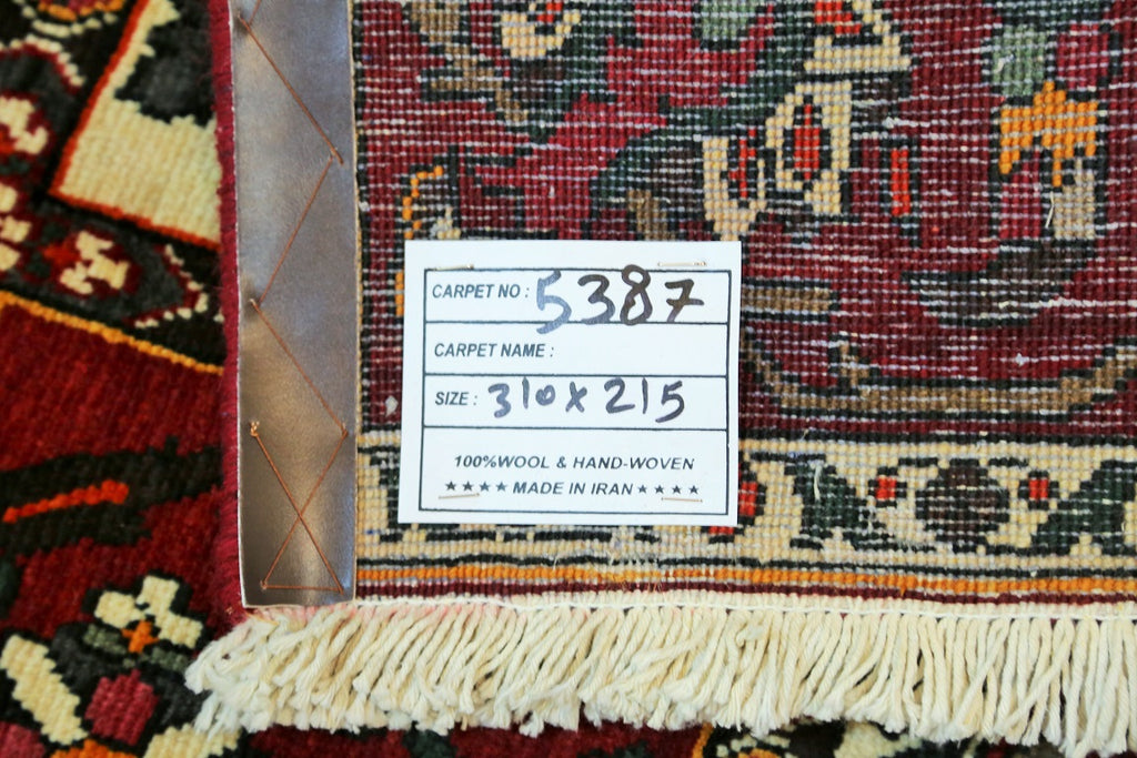 Compartment Design Bakhtiari Persian Rug