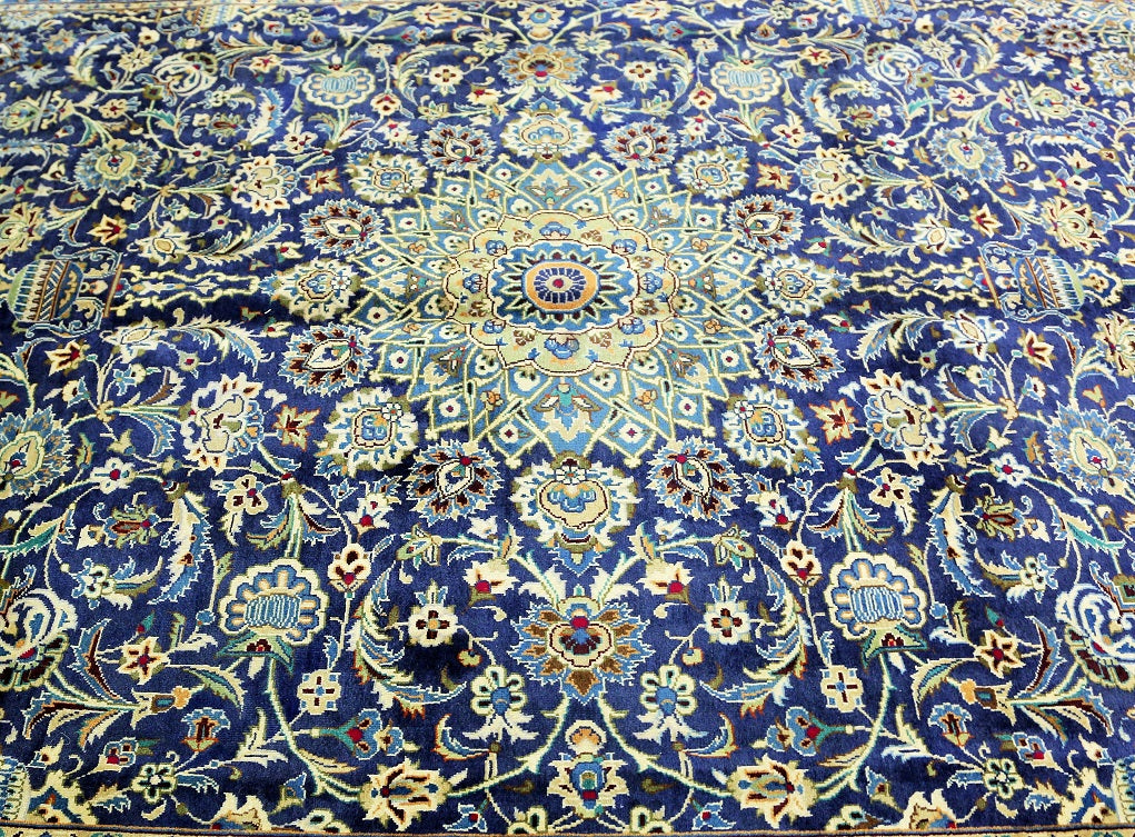 3.5x2.5m Traditional Persian Kashmar Rug