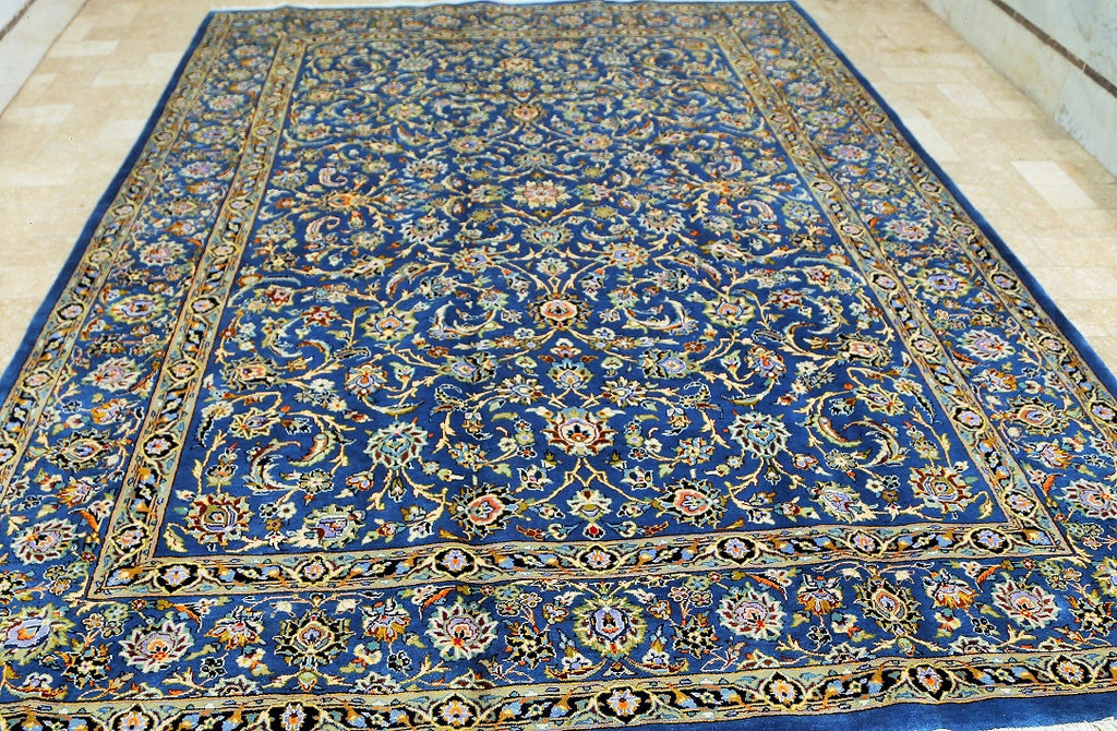 Signed Mashad Persian Rug