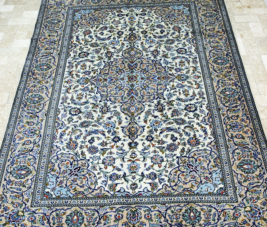 3.6x2.5m Discounted Kashan Persian Rug
