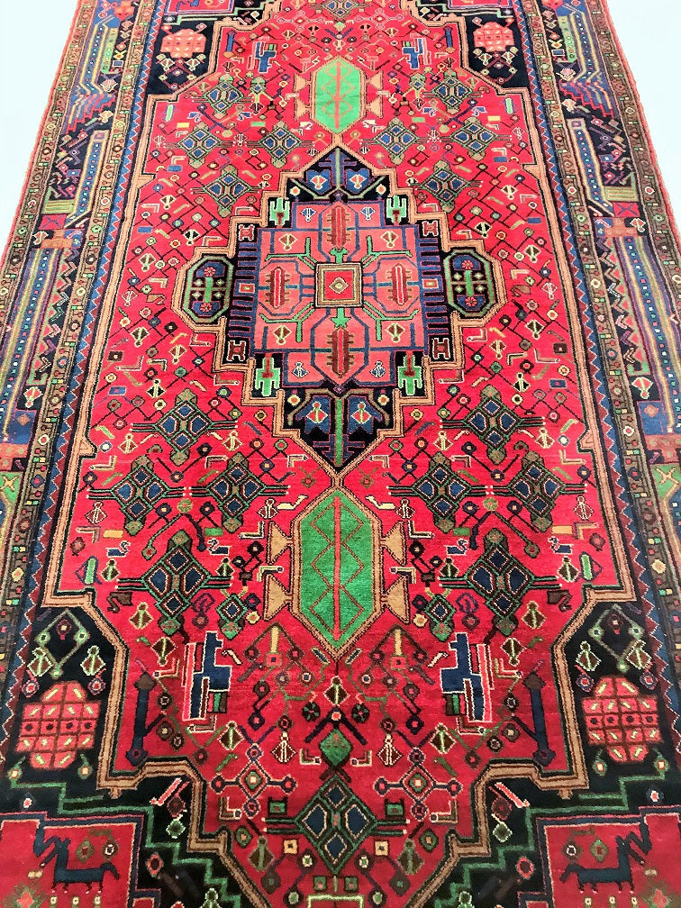 Large Room Size Tribal Persian Rug