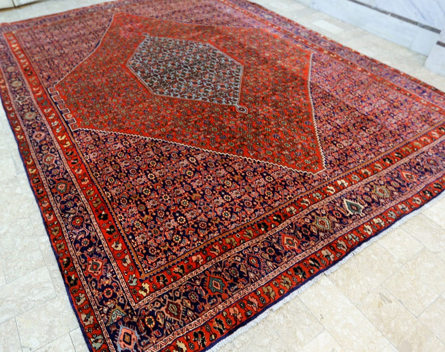 Superb Persian Bijar Rug