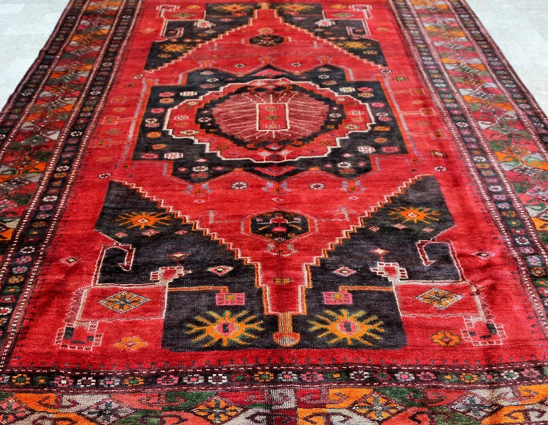Large Size Vintage Tribal Rug